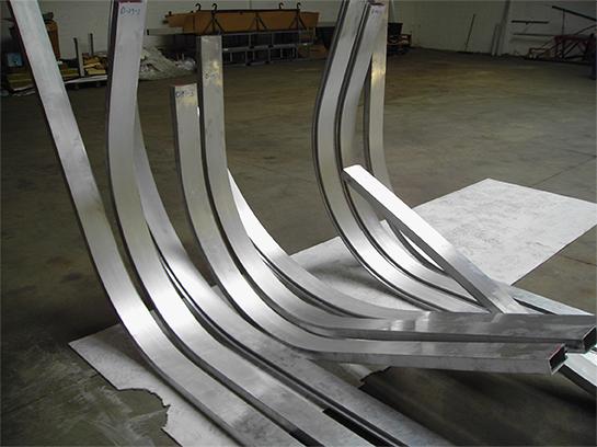 Aluminium profiel buigen